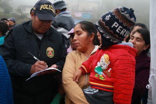 DECLARAN EN EMERGENCIA ZONA DE TICLIO CHICO POR BAJAS TEMPERATURAS