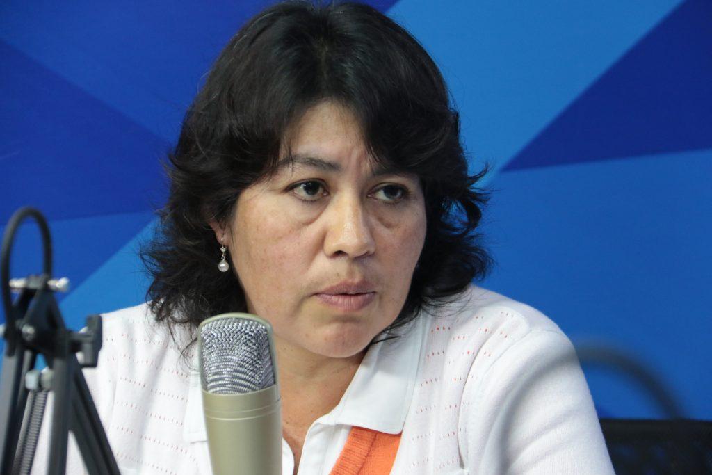 Ing. Erica Almanza, Gerente Institucional de la Asociación Nacional de Productores de Carne Bovina FONDGICARV PERÚ.