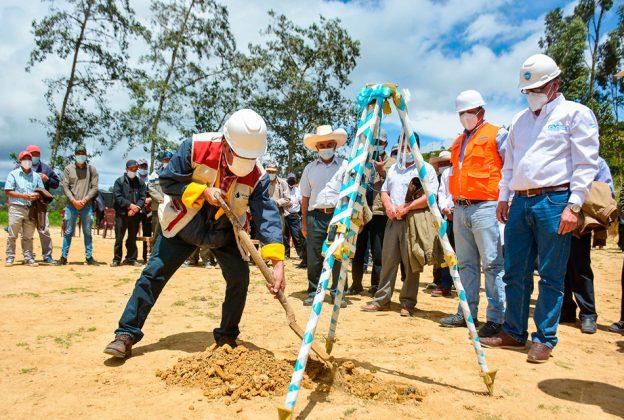 CAJAMARCA: INICIAN PROYECTO DE AGUA Y SANEAMIENTO PARA MÁS DE 14 800 HABITANTES EN CATORCE LOCALIDADES DE CUTERVO