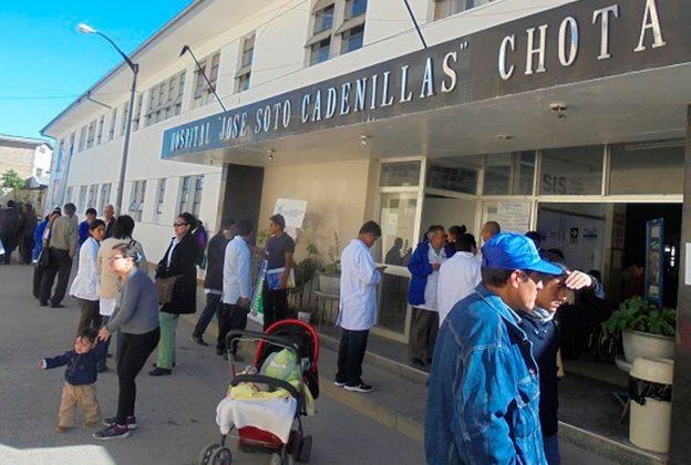 CAJAMARCA:  PLANTA DE OXÍGENO LA CHOTANITA DEL HOSPITAL JOSÉ SOTO CADENILLAS VUELVA A ESTAR OPERATIVA