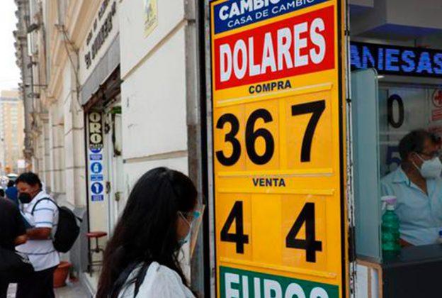 TIPO DE CAMBIO ABRE AL ALZA Y BVL OPERA EN ROJO EN MEDIO DE CAUTELA DE INVERSIONISTAS