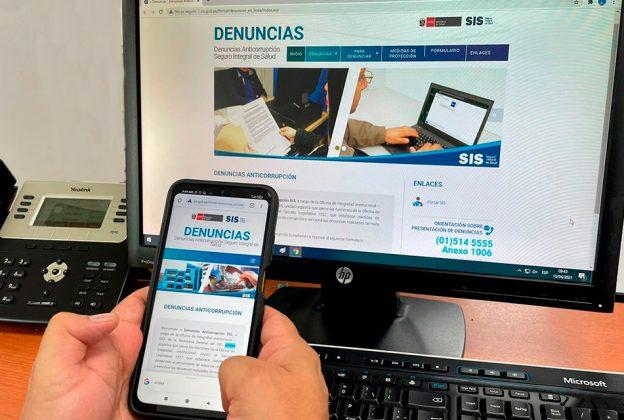 EL SIS TIENE HABILITADOS CINCO CANALES DE ATENCIÓN PARA RECIBIR DENUNCIAS POR ACTOS DE CORRUPCIÓN
