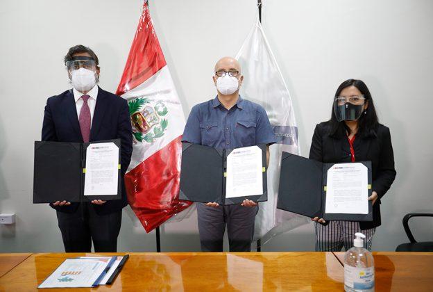 MINISTERIO DE VIVIENDA Y EMPRESA CONCESIONARIA FIRMAN ACTA PARA INICIAR OBRAS DE MEGAPROYECTO PTAR TITICACA