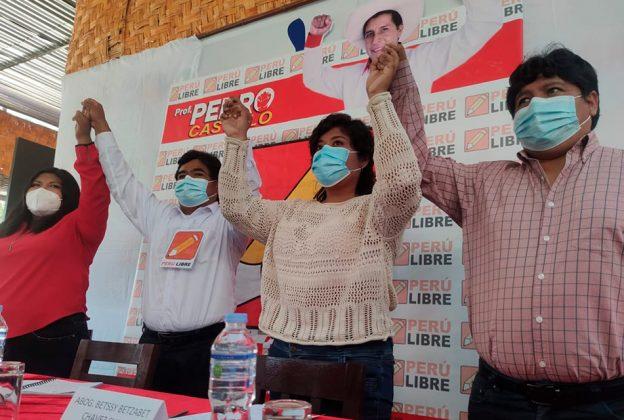 AFIRMAN QUE VLADIMIR CERRÓN VE LA PARTE ORGÁNICA DE PERÚ LIBRE Y PEDRO CASTILLO LA POLÍTICA