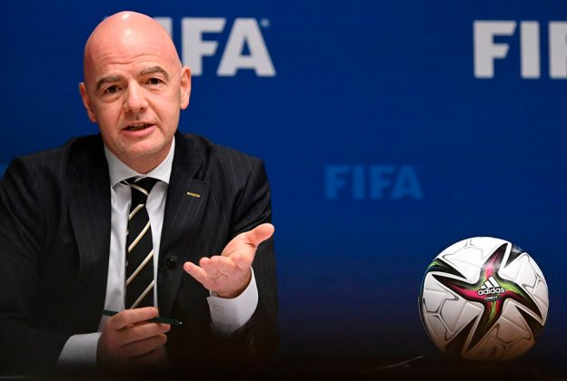 """PRESIDENTE DE FIFA PREFIERE """"DIÁLOGO"""" A SANCIONES POR CREACIÓN DE LA SUPERLIGA"""