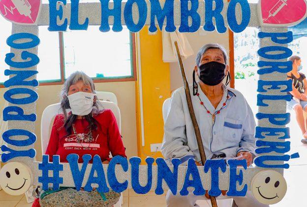 AMAZONAS: SENSIBILIZAN A POBLACIONES INDÍGENAS SOBRE VACUNACIÓN CONTRA LA COVID-19