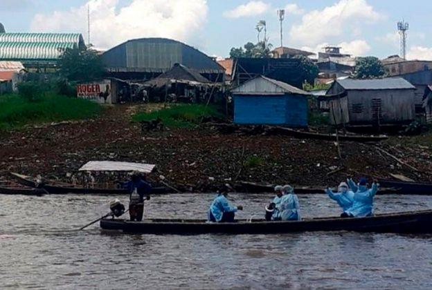 AMAZONAS: BRIGADAS DE SALUD RECORRERÁN COMUNIDADES NATIVAS PARA LLEVAR VACUNAS CONTRA LA COVID-19