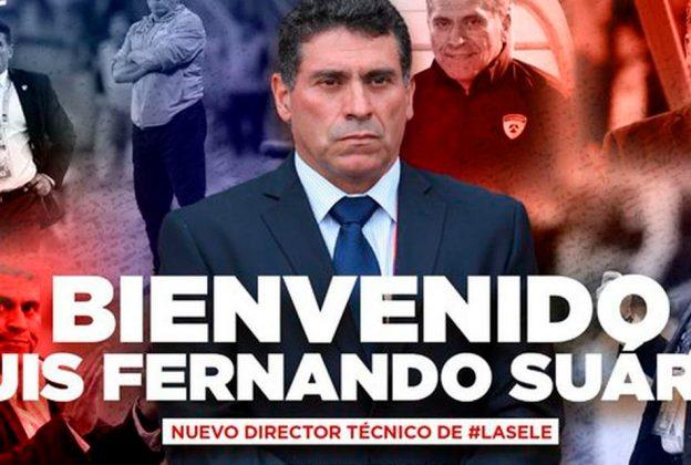 LUIS FERNANDO SUÁREZ ES NUEVO ENTRENADOR DE COSTA RICA