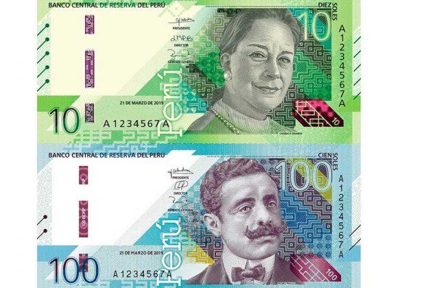 BANCO CENTRAL DE RESERVA EMITE BILLETES DE S/ 10 Y S/ 100 CON NUEVOS DISEÑOS
