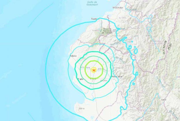 SISMO DE MAGNITUD 6,1 SACUDE PERÚ, SEGÚN USGS