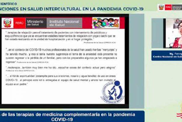 INTERVENCIONES EN SALUD CON ENFOQUE INTERCULTURAL SON PRIORITARIAS EN EL CONTEXTO DE LA PANDEMIA