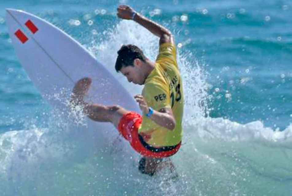 A UN PASO DE HACER HISTORIA: LUCCA MESINAS SE UBICA SEXTO EN LA CLASIFICACIÓN HACIA EL TOUR MUNDIAL DEL SURF