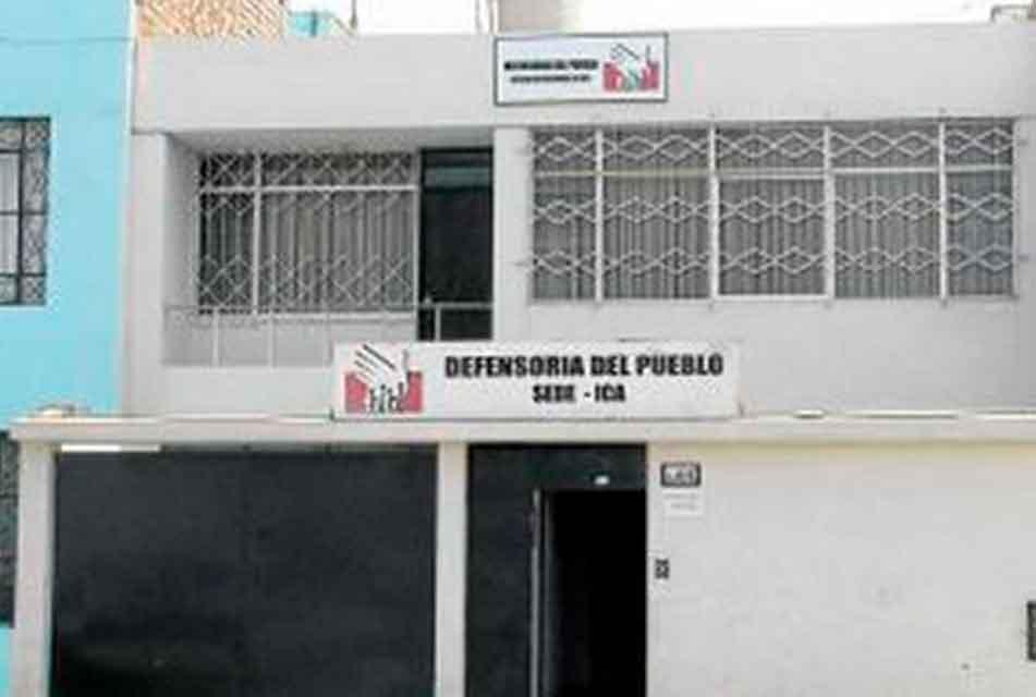 DEFENSORÍA DEL PUEBLO: OFICINA EN ICA ATENDERÁ ESTE VIERNES PEDIDOS DE INTERVENCIÓN Y QUEJAS DE CIUDADANÍA EN CHINCHA